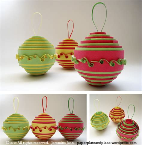 Handmade Paper Ornaments - 25 beautiful handmade ornaments