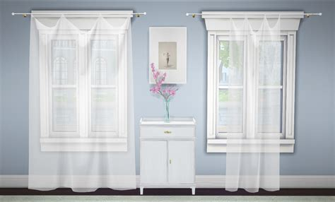 Curtains For Canopy Beds my sims 4 blog build a curtain lace amp sheer by greengirl100