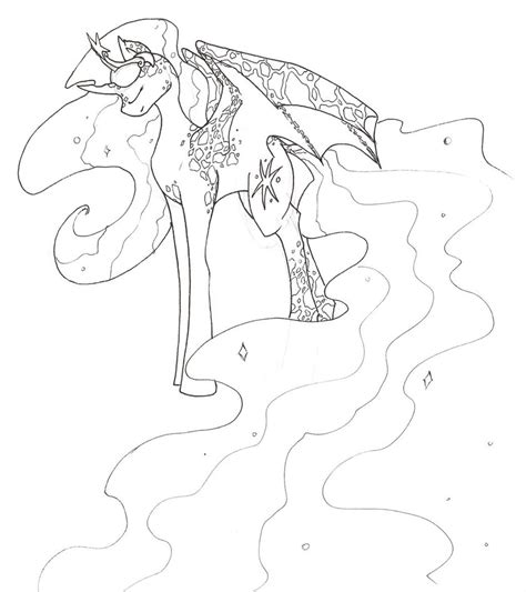 my little pony alicorn coloring pages princess twilight sparkle by iceofwaterflock on deviantart