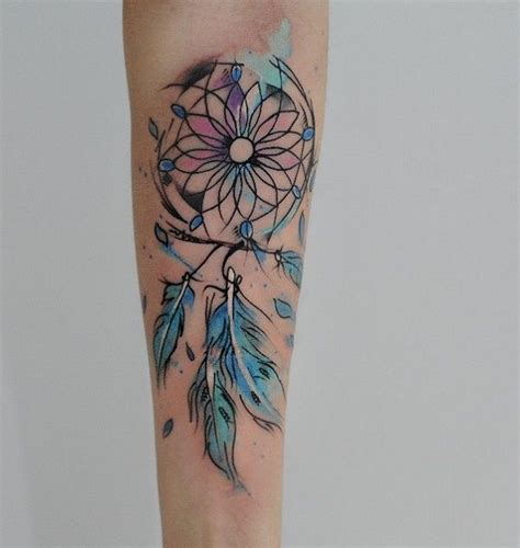 unique dreamcatcher tattoo designs best 25 dreamcatcher arm ideas on