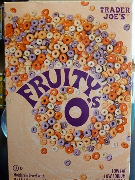 fruity o s cereal what s at trader joe s trader joe s fruity o s