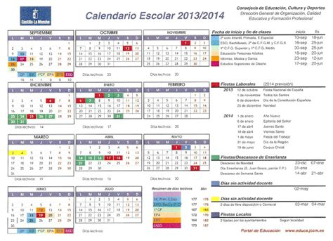 recursos educativos de primaria calendario escolar 2013