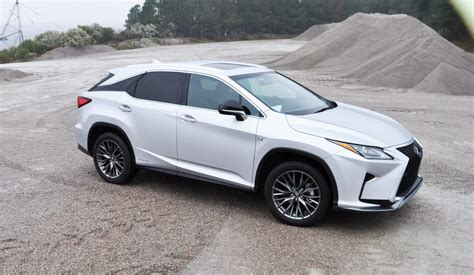 first lexus first drive videos 2016 lexus rx350 and rx450h f sport