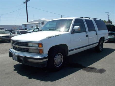 how to sell used cars 1993 chevrolet suburban 2500 on board diagnostic system sell used 1993 chevy suburban no reserve in anaheim california united states