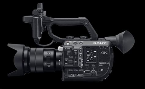 Kamera Sony Fs5 sony fs5 kompakte s35mm 4k kamera f 252 r 5900 ibc 2015