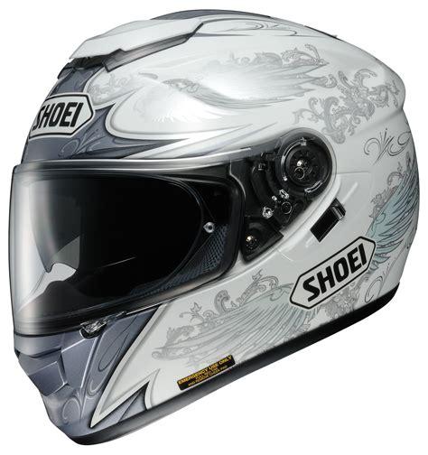 shoei gt air grandeur helmet white silver