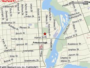 peterborough canada map dancingthread map of st s anglican church