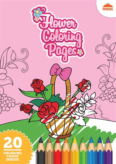 fileflower coloring pages printable coloring book