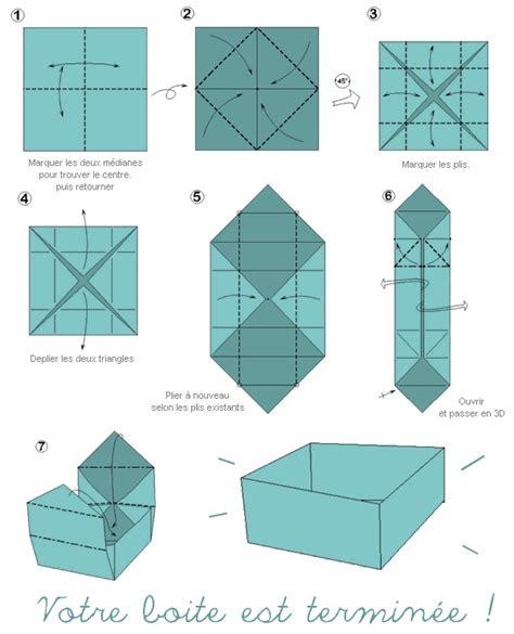 Origami Theme - boite japonaise theme origami papier