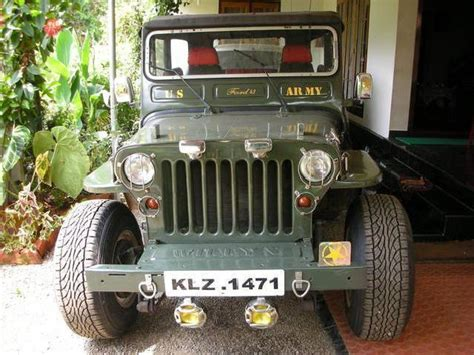 kerala jeep jeep kerala 501 alteration jeep used cars in kerala