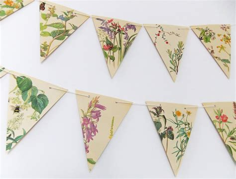 Paper Bunting - and summer paper bunting wedding garland flower