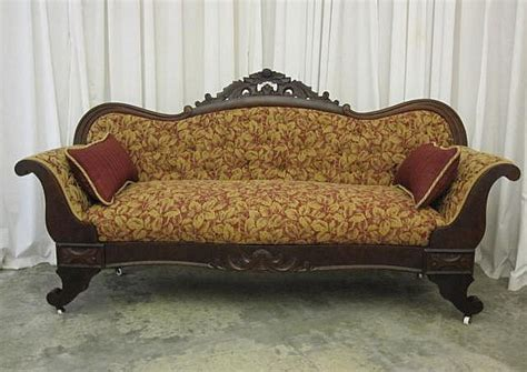 antique sofa styles pictures antique 1800s 1900s empire style sofa furniture antique