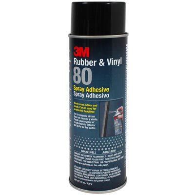 3m upholstery adhesive 3m rubber vinyl 80 spray adhesive 19 oz