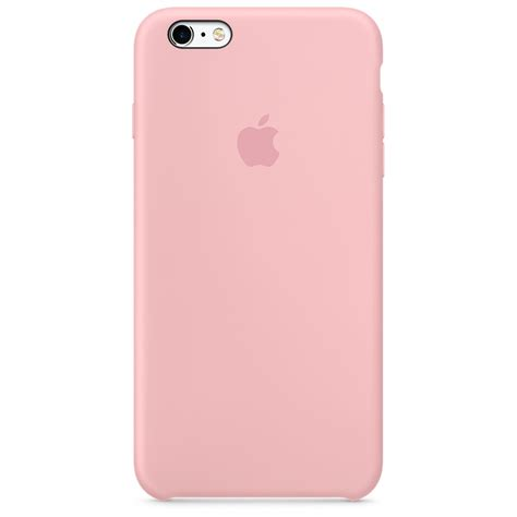 apple silicone for iphone 6 plus 6s plus pink