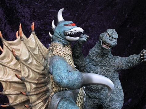 picture of a billiken godzilla vs gigan with reposed 30cm billiken and pictures