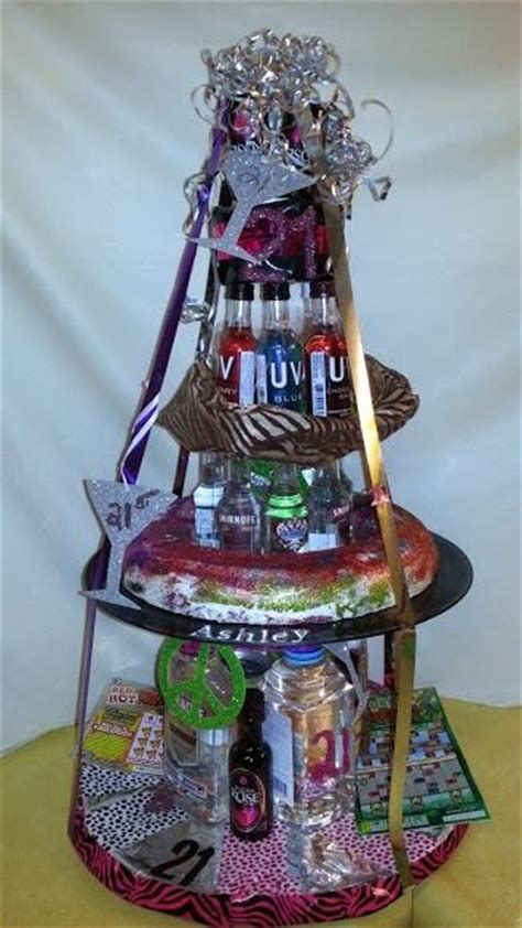 St Birtday D St  Ee  Birthday Ee   Diy  Ee  Gift Ee   With Mini Liquors