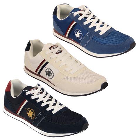 club shoes mens trainers santa polo club lace up shoes pumps