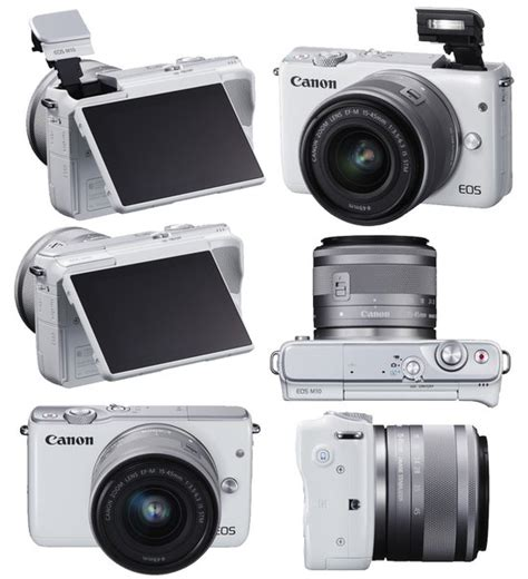 Canon Eos M10 Canon M10 Kit Lens 15 45mm 22mm Paket Dahsyat 16gb canon eos m10 mirrorless digital with 15 45mm lens white cameratown