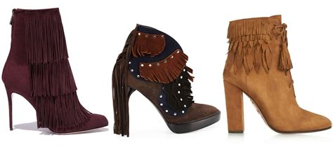 fringe boots and booties for fall 20 best fringe boots