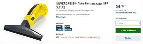silvercrest fenstersauger als lidl angebot ab 28 4 2016
