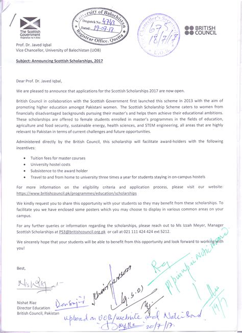 sle reference letter for chevening scholarship cover