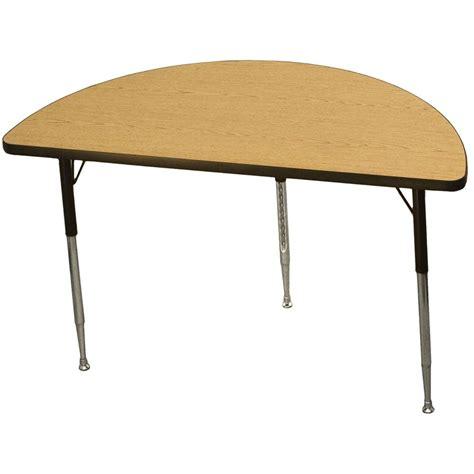 24 x 48 table activity table 24 x 48 quot half circle carolina com