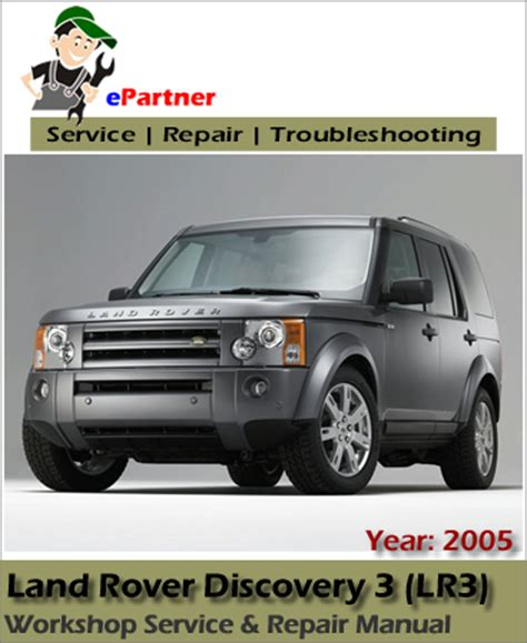 free service manuals online 2011 land rover discovery electronic valve timing land rover discovery 3 lr3 service repair manual 2005 automotive service repair manual