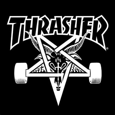 Thrasher Skate Goat Logo | thrasher logo wallpaper wallpapersafari