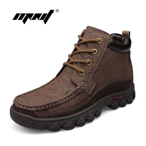 comfortable winter shoes aliexpress com buy handmade men boots genuine leather
