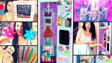 How To Make Locker Decorations At Home Diy Back To Locker Makeover Cheap Ways To Decorate