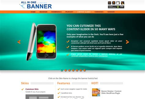 banner design jquery 19 best responsive jquery slider plugins web design tips
