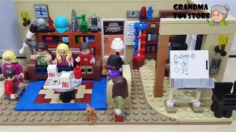 big bang theory lego ideas unboxing toys review demos lego ideas the big bang