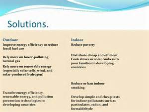 l solutions air pollution