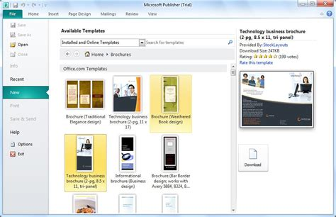 Microsoft Publisher Download Microsoft Publishing Templates