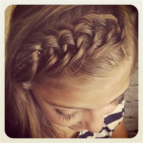 knotted headband   school hairstyles cute girls hairstyles