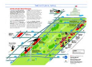 Washington Dc Mall Map by National Mall In Washington Dc Map Washington District