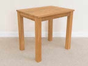 Small table oslo 80cm x 60cm small solid oak dining table