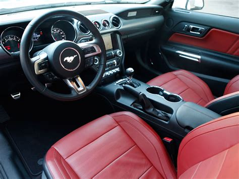 interior of mustang 2015 new photos of the 2015 ford mustang mustang performance