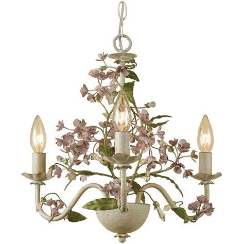 antique white metal mini chandelier af lighting grace 3 light antique mini chandelier 7044 3h the home depot