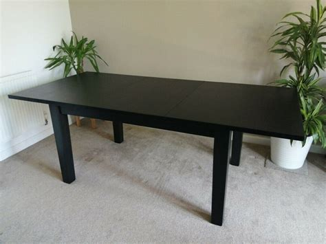 large extendable wooden dining table  newcastle tyne