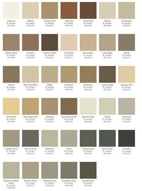 ralph paint color swatches best 25 ralph collection ideas on