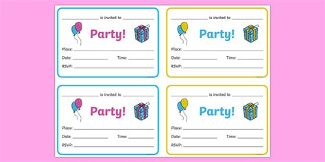 Birthday Party Invitations   Birthdays, birthday party, party
