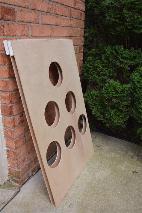 diy wooden bean bag toss how to make a diy backyard bean bag toss
