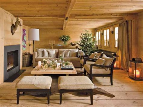 country homes decorating ideas alpine chalet christmas decoration 15 charming country