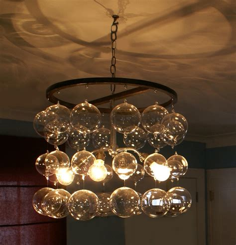 Streaming Glass Ball Chandelier Chandelier Glass Balls