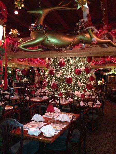 ten dc restaurants with really festive christmas decor