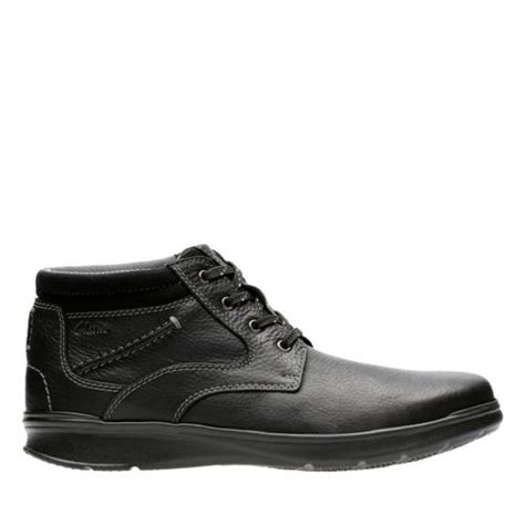 cotrell rise black leather s casual boots