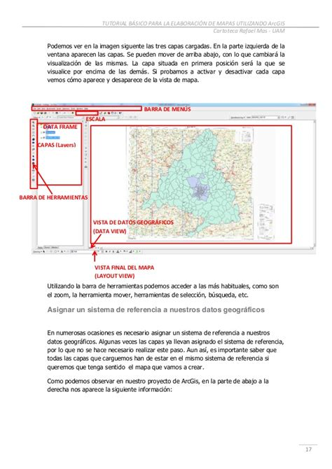 arcgis tutorial manual manual arcgis 10 0 nivel basico