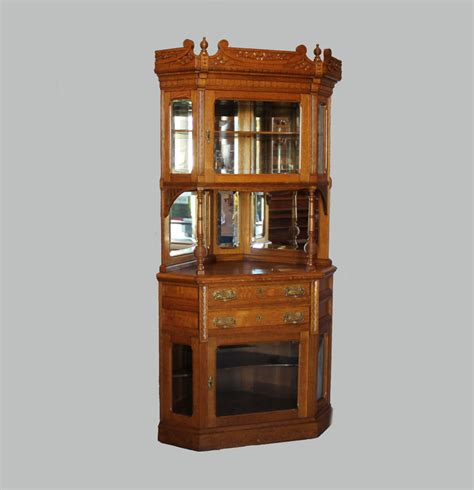 corner wall china cabinet bargain john s antiques 187 blog archive victorian two piece
