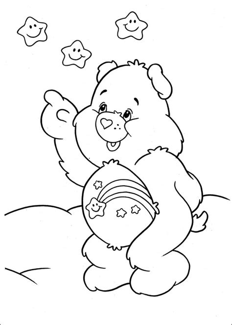 wish bear coloring pages free coloring pages of wish bear